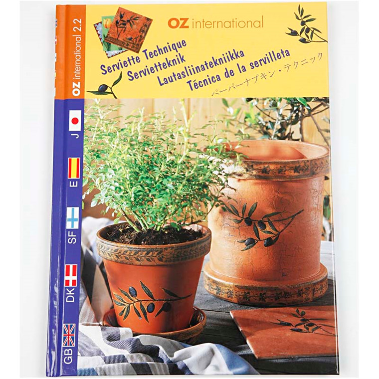 Inspirationsbog, OZ International, 1stk.