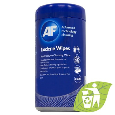 Isoclene - Tub of isopropanol surfaces wipes (100)