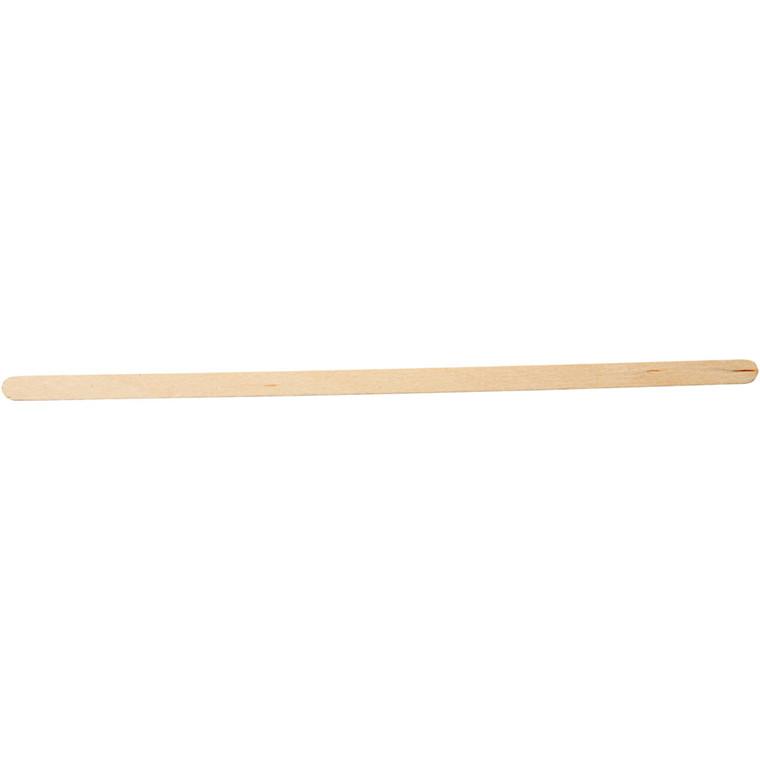 Ispinde træ lange & tynde | Længde 19 cm bredde 6 mm - 30 stk