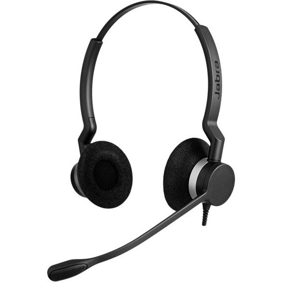 Jabra BIZ 2300 Headset, Black (Duo)