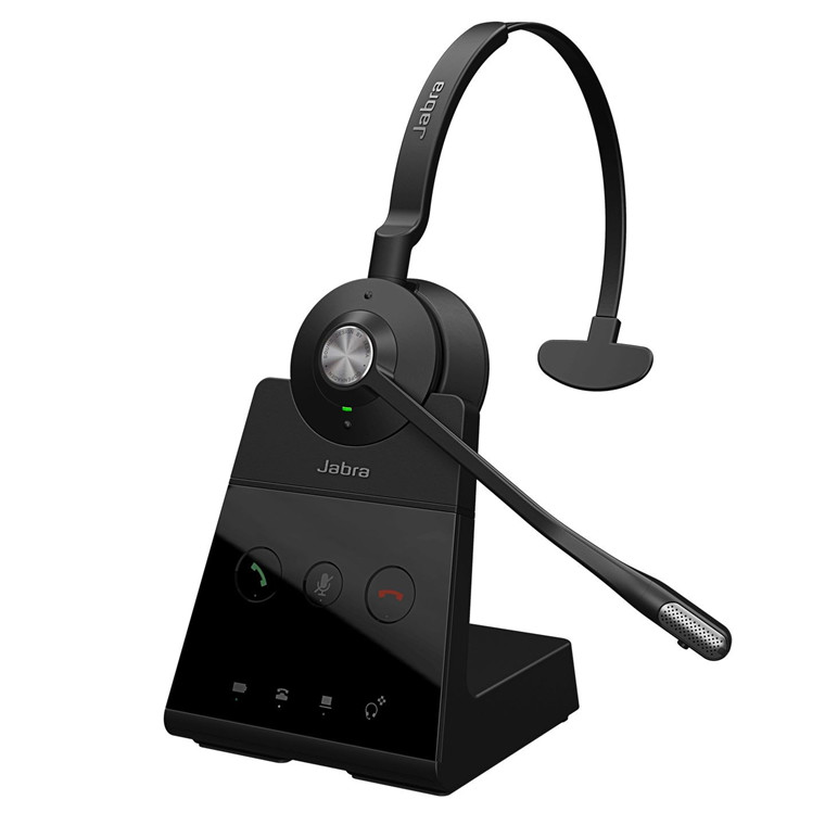 Jabra Engage 65 USB Headset, Black (Mono)