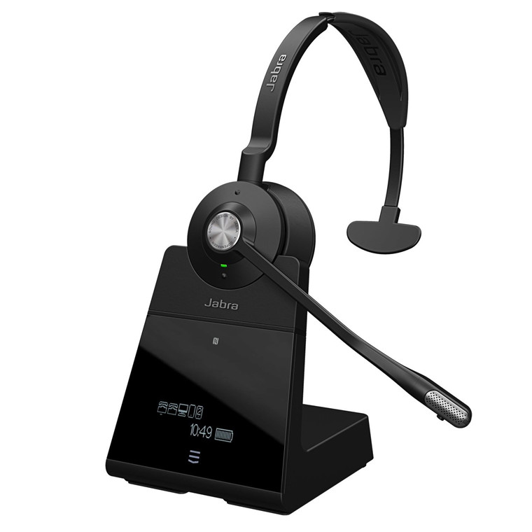 Jabra Engage 75 USB Headset, Black (Duo)