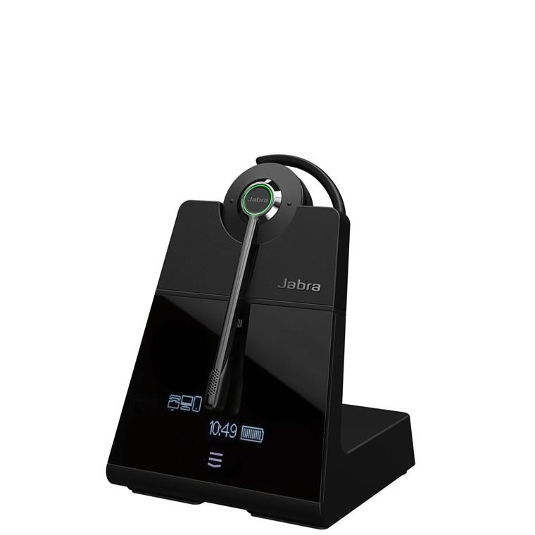 Jabra Engage 75 USB Headset, Black (Mono)