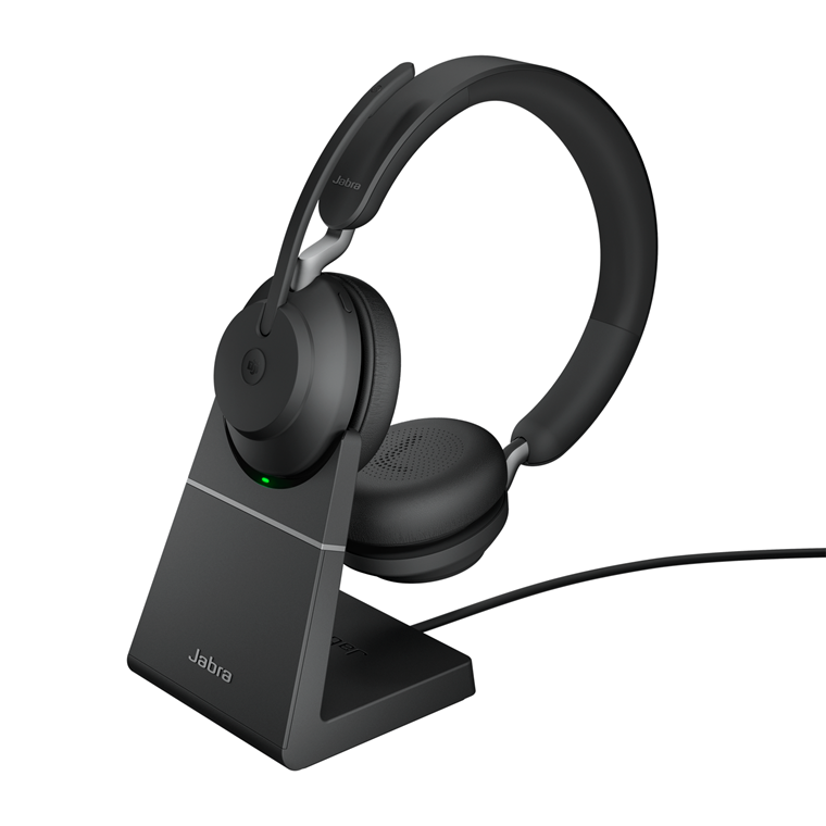 Jabra Evolve2 65 USB-A Headset, Black (Duo)