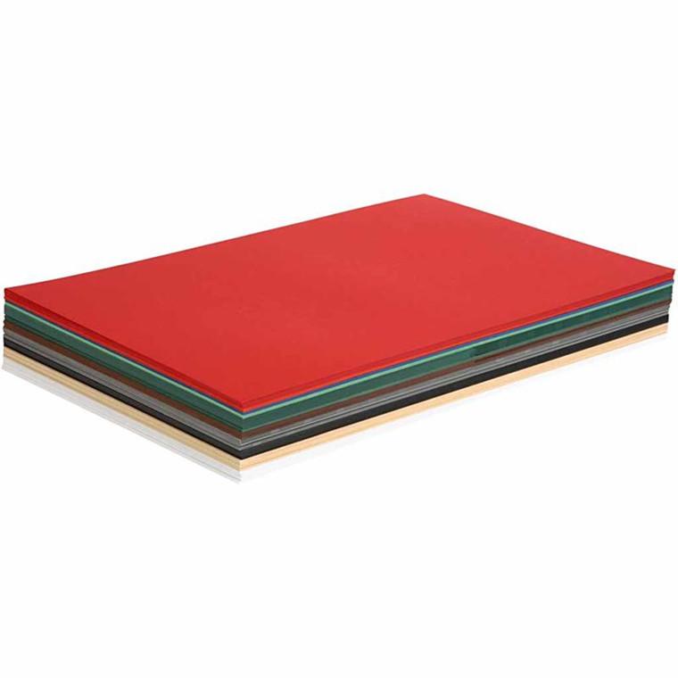 Julekarton A3 30 x 42 cm 180 gram assorteret farver | 300 ark