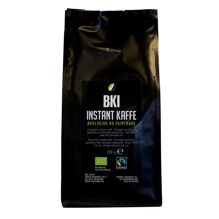Kaffe BKI Instant økologisk fairtrade 250g/ps
