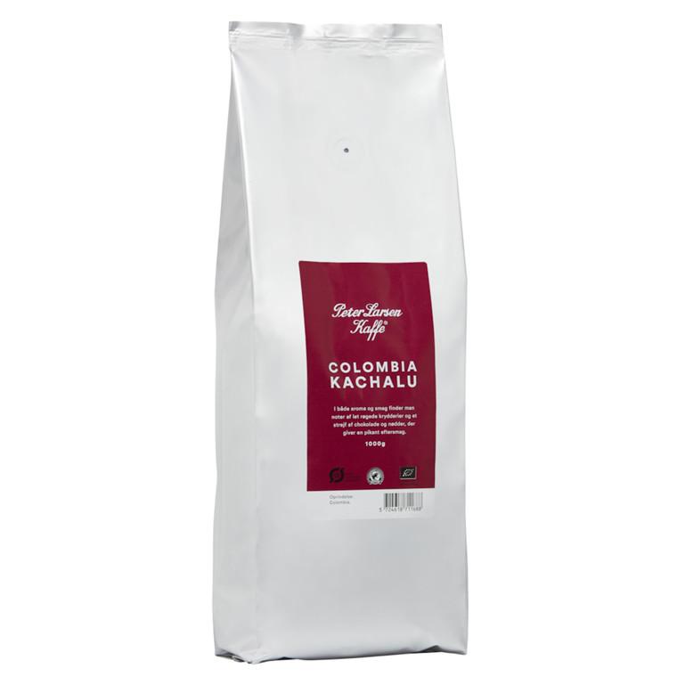 Kaffe, helbønner, Peter Larsen, 1 kg *Denne vare tages ikke retur*