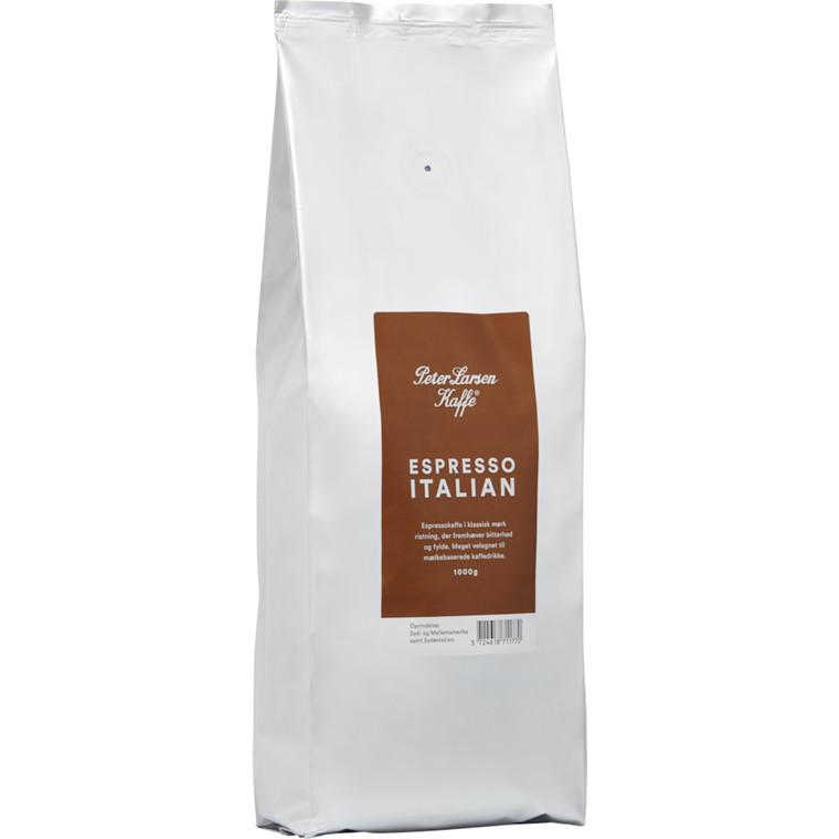 Kaffe, helbønner, Peter Larsen, 1000 g
