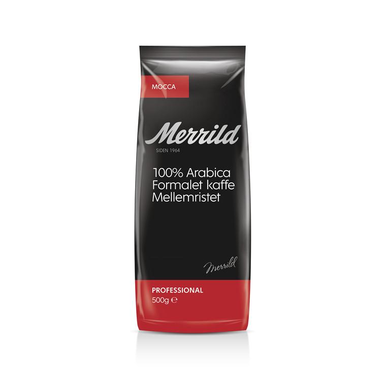 Kaffe Merrild Mocca - 500 gram pr. pose
