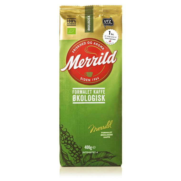 Kaffe Merrild Økologisk 400g/ps