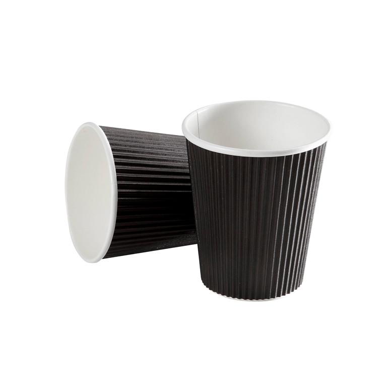 Kaffebæger Black line - Ripple Wall pap - 45 cl. - 600 stk.