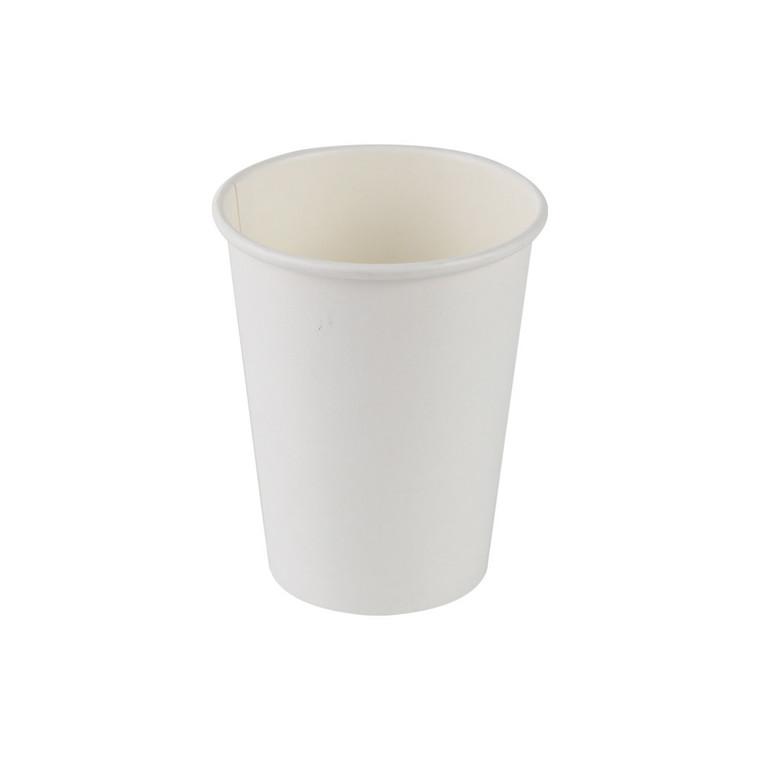 Kaffebæger Hot Cup - hvid Single Wall pap - 34 cl. - 1000 stk.