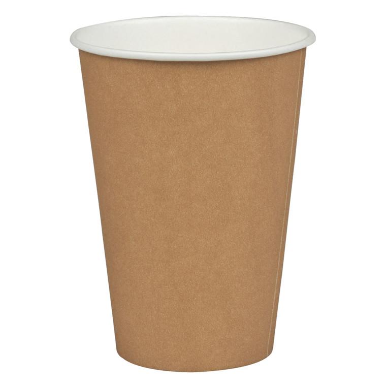 Kaffebæger, Gastro-Line, brun, 1-sidet PE-coated, pap med PE-belægning, 20 cl, 7,5 oz,