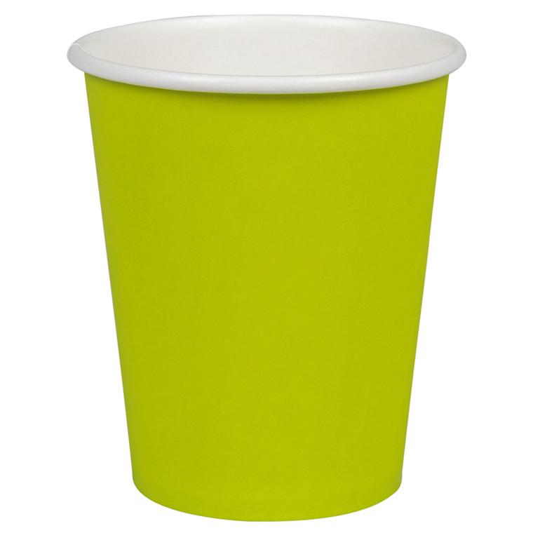 Kaffebæger Pap 24 cl Kiwi