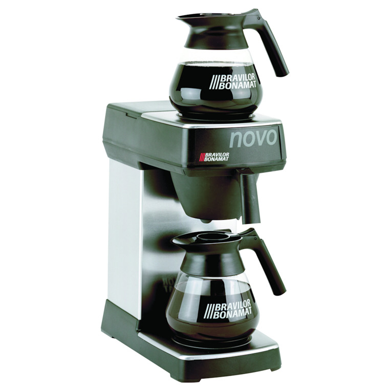 Kaffemaskine, Bonamat, NOVO 2, manuel påfyldning af vand,