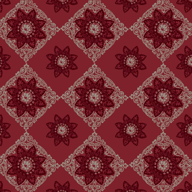 Kaffeserviet, Abena Gastro-Line, Red Christmas, 3-lags, 1/4 fold, 25x25cm, flerfarvet, papir