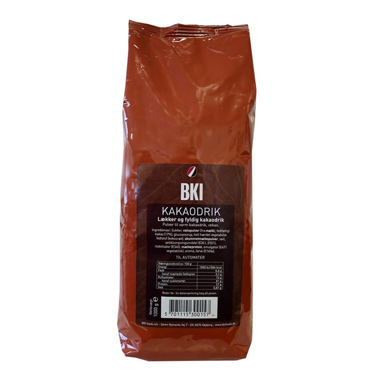Kakaodrik varm - 1000 gram i en pose - Ekstra god 17% Cacao