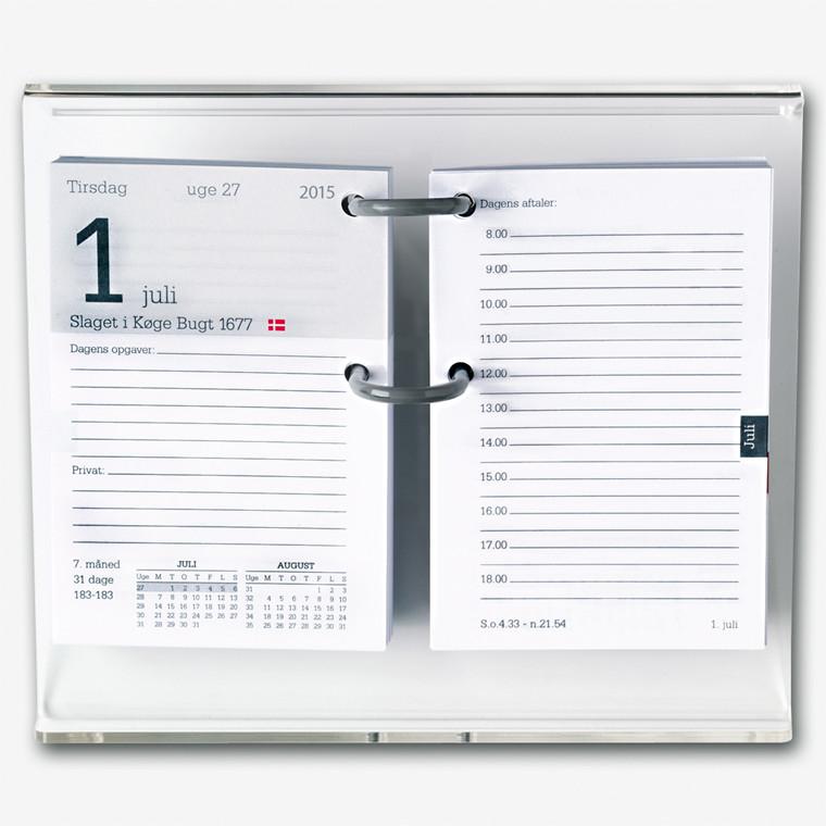 Kalenderstativ klar akryl til Mayland blokkalendere - 366600
