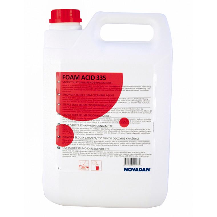 Kalkfjerner Foam Acid 335 skumrengøring 5l