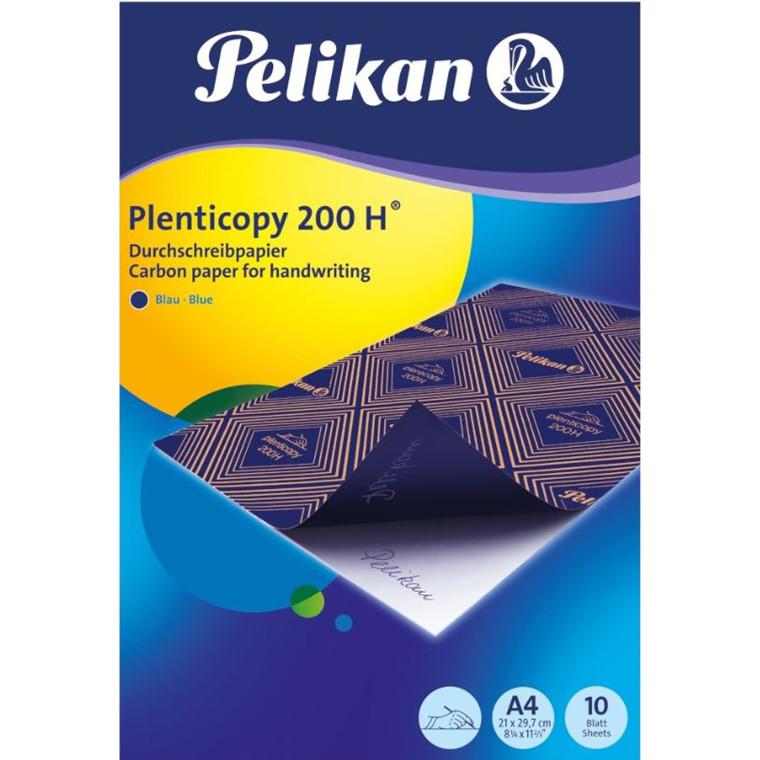 Karbonpapir - Kalkerpapir A4 blå Pelikan plenticopy 200 H - 10 ark