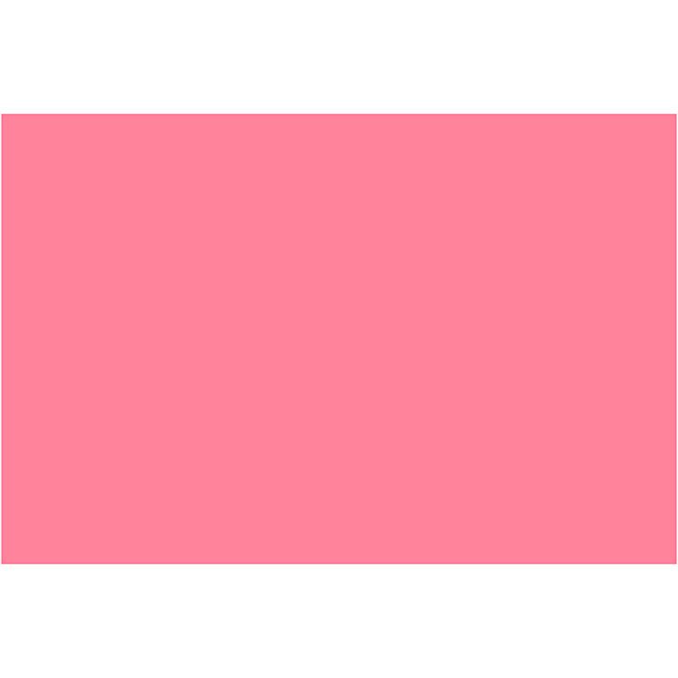 Karton, A2 420x600 mm, 180 g, gl. rosa, 10ark