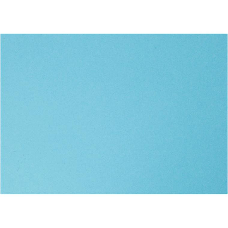 Karton, A4 210x297 mm, 180 g, himmelblå, 20ark