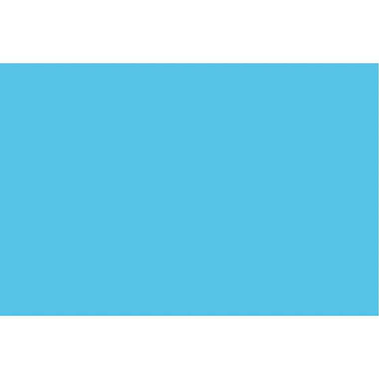 Karton, A6 105x148 mm, 180 g, klar blå, 100ark