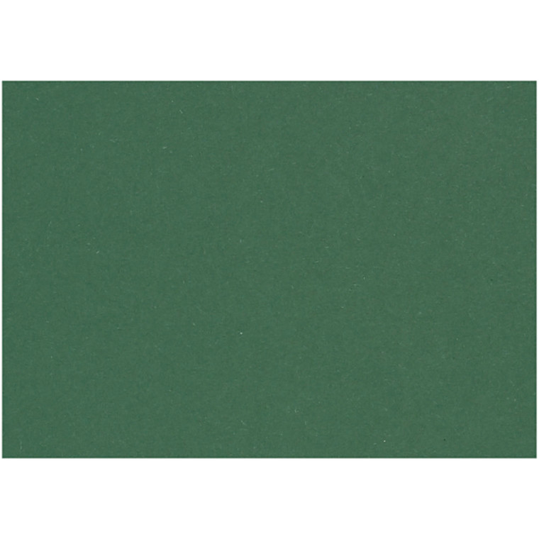 Karton, ark 460x640 mm, 210-220 g, grangrøn, 25ark