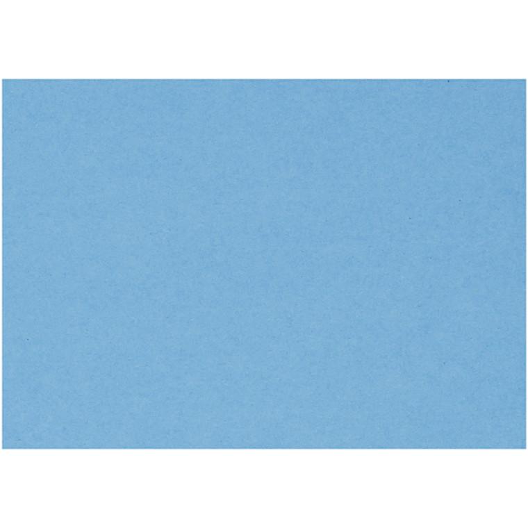Karton, ark 460x640 mm, 210-220 g, klar blå, 25ark