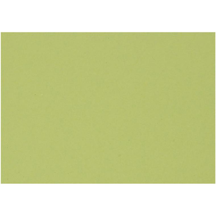 Karton, ark 460x640 mm, 210-220 g, løvgrøn, 25ark