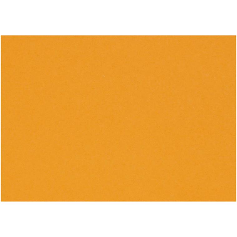 Karton, ark 460x640 mm, 210-220 g, mandarin, 25ark