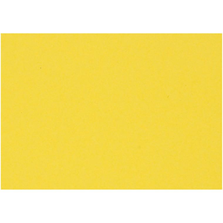 Karton, ark 460x640 mm, 210-220 g, solgul, 25ark