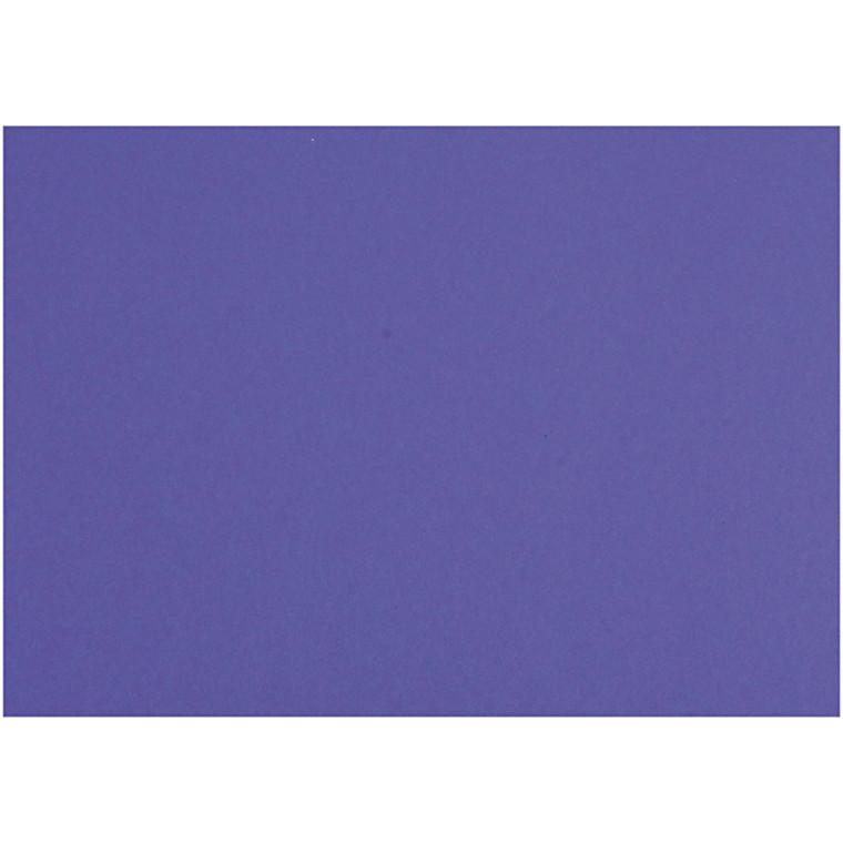 Karton, ark 497x697 mm, 270-300 g, kongeblå, 10ark