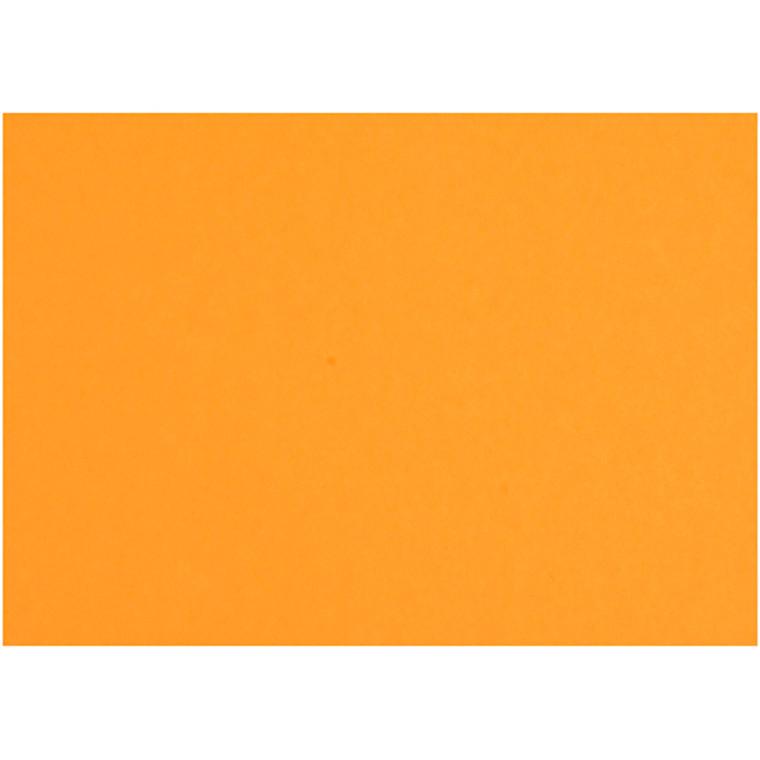 Karton, ark 497x697 mm, 270-300 g, mandarin, 10ark