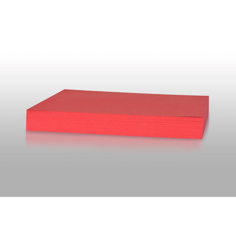 Karton - Play Cut A4 180 gram julerød - 100 ark