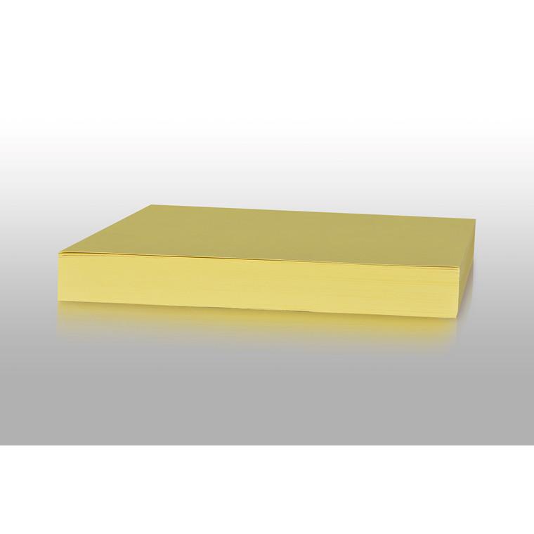 Karton - Play Cut A4 180 gram kanariegul - 100 ark
