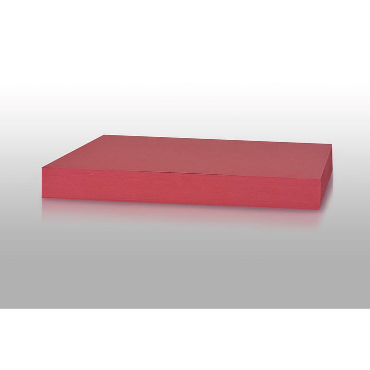 Karton - Play Cut A4 180 gram solbærrød - 100 ark