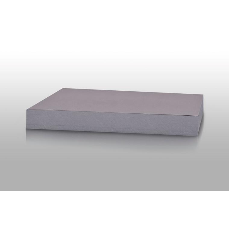 Karton - Play Cut A4 180 gram stålgrå - 100 ark