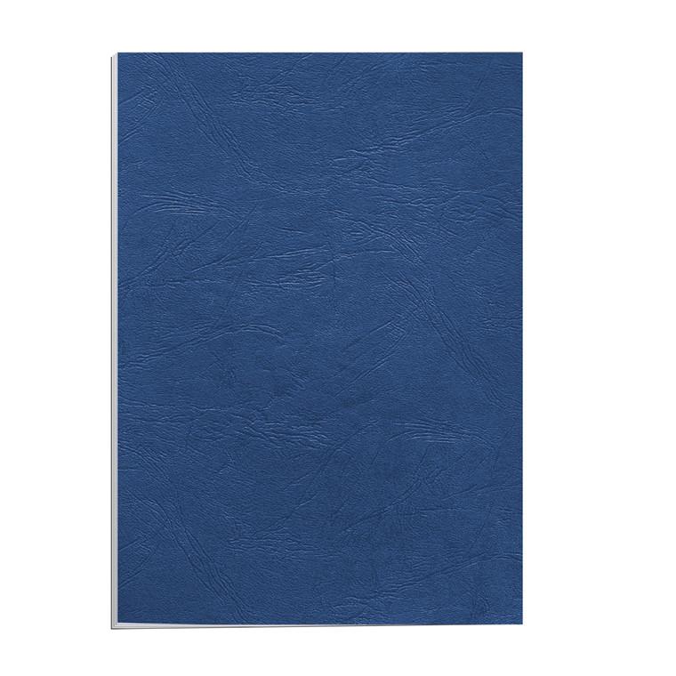 Kartonomslag - Fellowes blå 250g A4 genbrug - 100 stk