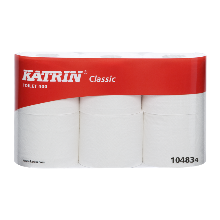 Katrin 104834 Classic 400 Toiletpapir 2 lags 400 ark - 42 toiletruller
