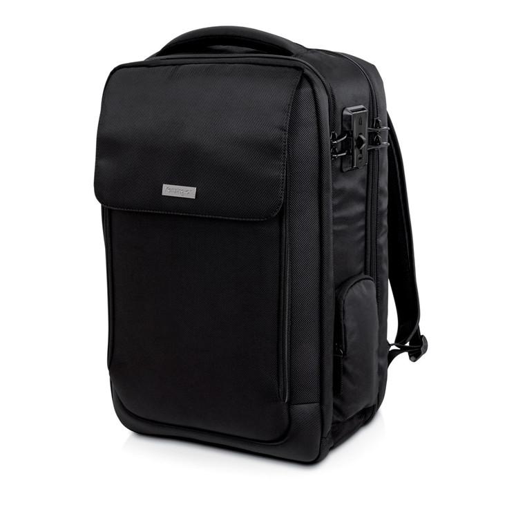 Kensington 17'' Backpack Overnight SecureTrek, Black