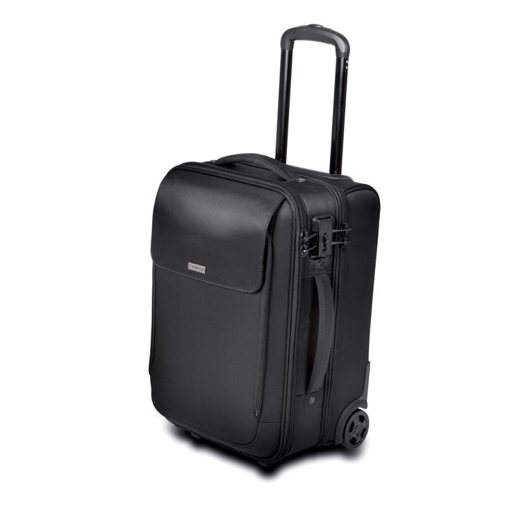 Kensington 17'' Roller Bag SecureTrek, Black