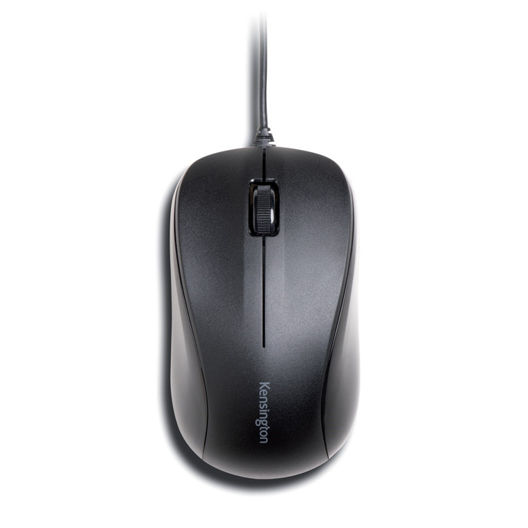 Kensington Wired Mouse ValuMouse 3-Button, Black