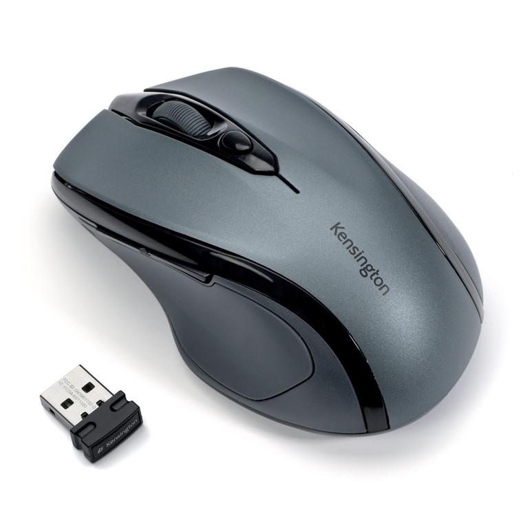 Kensington Wireless Mouse ProFit MidSize, Grey