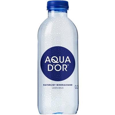 Kildevand, Aqua D'or, incl. pant B, 0,33 L