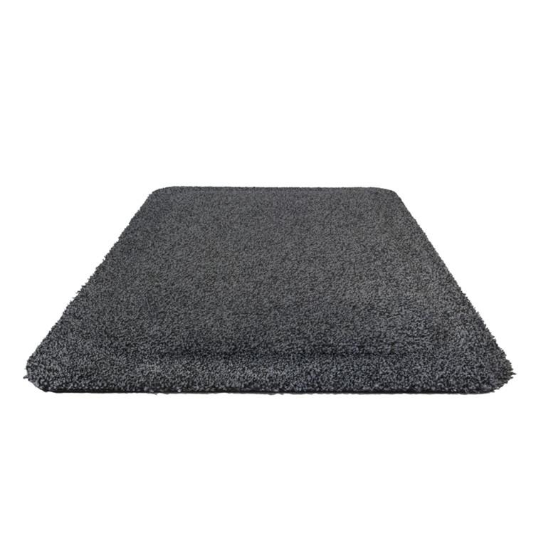 Kleen-Komfort Soft, grå, med kant, 55x75 cm
