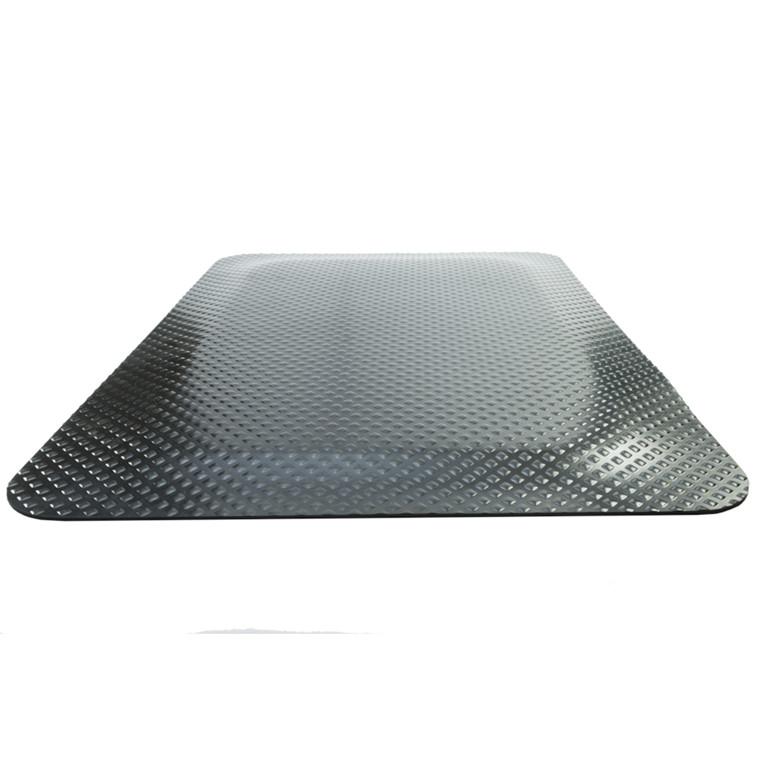 Kleen-Komfort Standard, sort, med kant, 60x85 cm