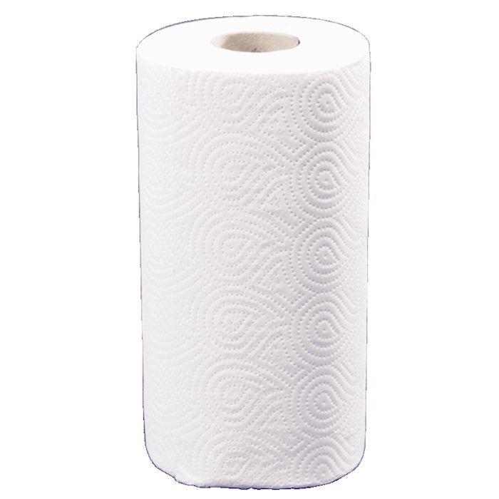 Køkkenrulle Care-Ness Excellent 2-lags hvid 22,5 cm x 17,85 meter | 70 ark
