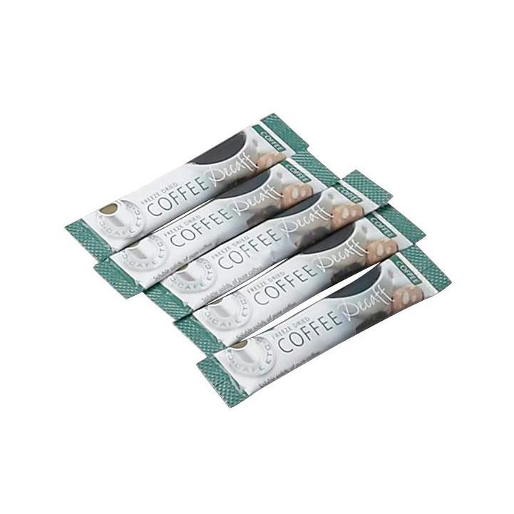 Koffeinfri coffee sticks - med instant kaffe - 1,5 gram