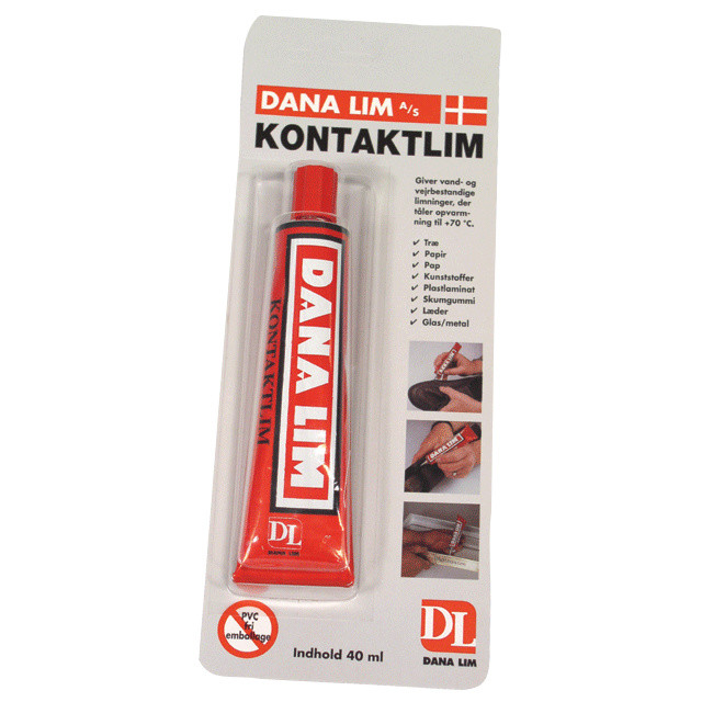 Kontaktlim Dana tube 40ml 281